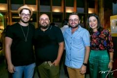 Cadeh Juaçaba, Erico Monteiro,Ramiro Mendes e Caroline Silveira