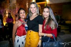 Cristine Perez,Tassia Ferreira e Acacia Eloyo