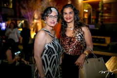 Karcy Saldanha e Eliane Bacelar