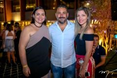 Patricia Bessa,Pedro Franco e Nathalia Magalhães