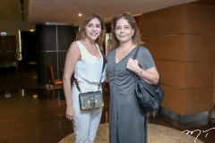 Cris Farias e Cláudia Gradvohl