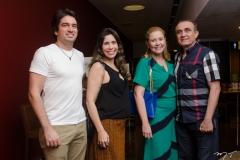 Daniel e Aline Borges, Andrea e Raimundo Delfino