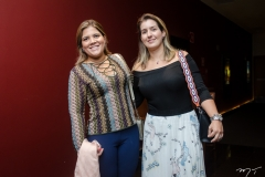 Gisela e Andrea Vieira