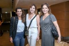 Márcia Travessoni, Cris Farias  e Cláudia Gradvohl