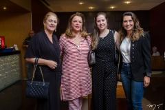 Marize Castelo Branco, Sandra Lazera, Nanette Castelo Branco e Márcia Travessoni
