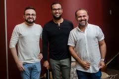 Ramiro Mendes, Thiago Menezes e Rai Meireles