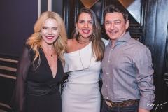 Branca Mourão, Ana Carolina Fontenele e Racine Mourão