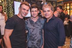 Fred Pinto, Junior Oliveira e Ivan Bezerra