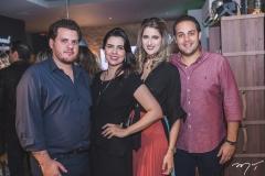 Humberto e Priscila Fontenele, Rebeca e Bruna Bastos
