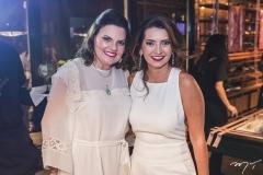 Luiziana Esteves e Márcia Travessoni
