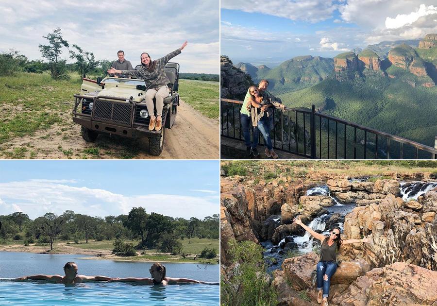 Para ficar na memória   Denise Pinheiro se deslumbra com a África do Sul