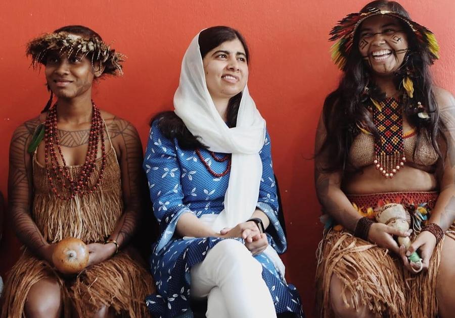 Em visita ao Brasil, Malala anuncia que vai patrocinar três brasileiras que lutam pela educação de meninas