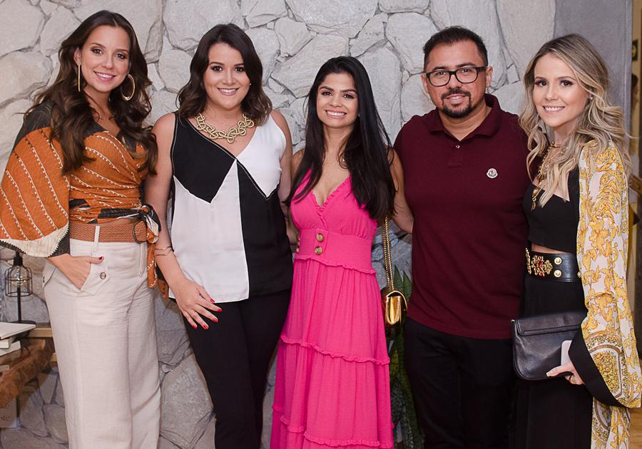 Fernanda Levy, Érica Dantas e Juliana Dias recebem influencers em seu espaço na CASACOR Ceará 2018