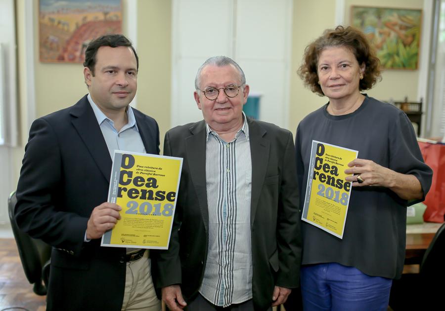 """Instituto Myra Eliane premia vencedores de concurso sobre a obra """"O Cearense"""""""