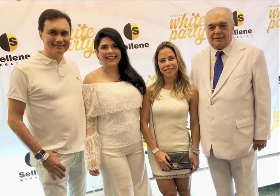 Sellene White Party celebra Dia do Nutricionista com grande festa no Gran Marquise