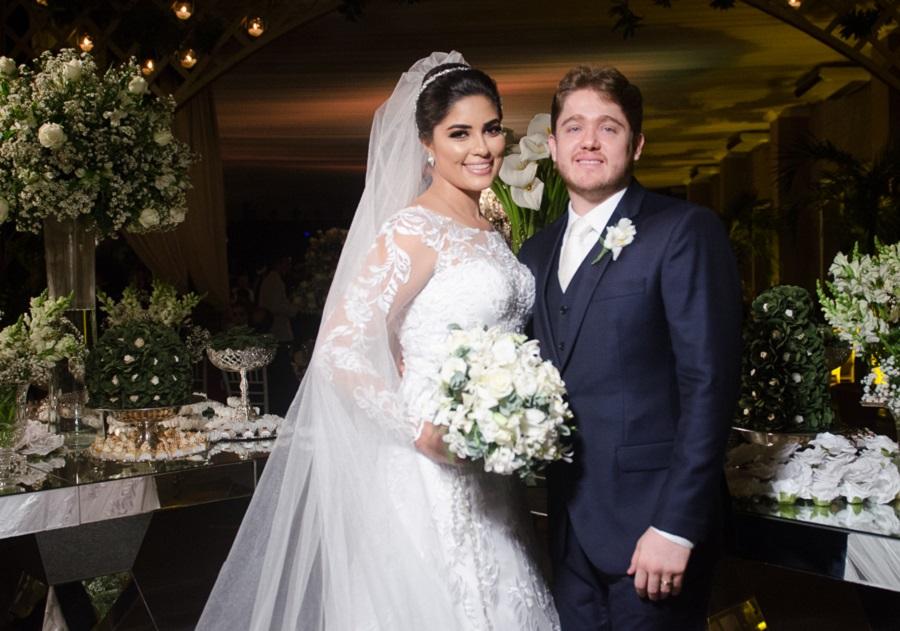 Confira as fotos do enlace de Sara Monteiro e Gustavo Rios