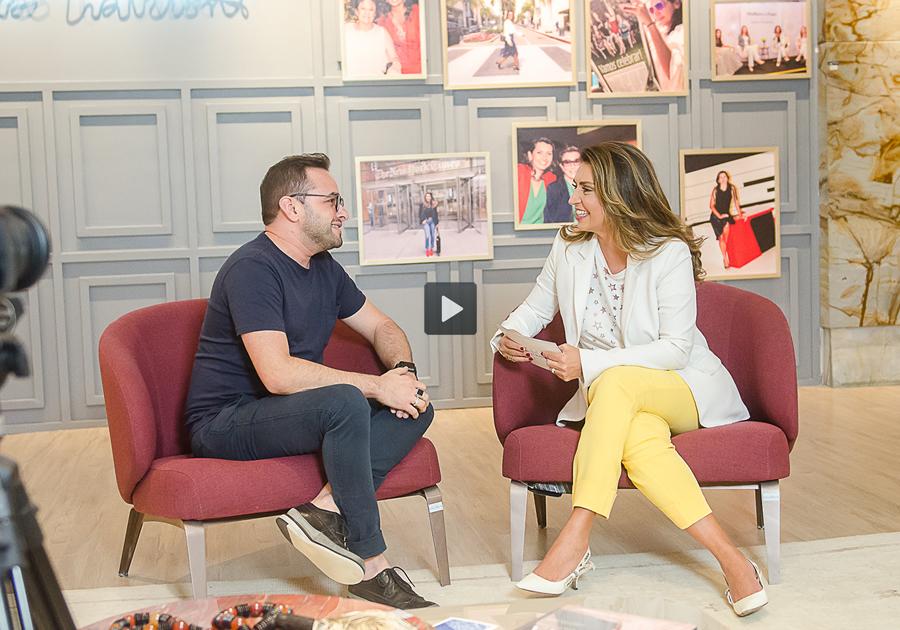#ConversacomMárciaTravessoni: ousadia na décor com o designer de interiores Ramiro Mendes